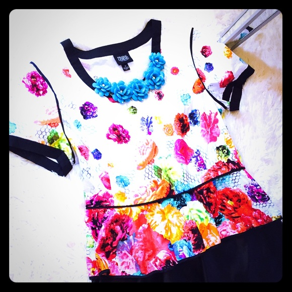Prabal Gurung for Target Tops - Colorful Peplum Top🌺SALE🌺