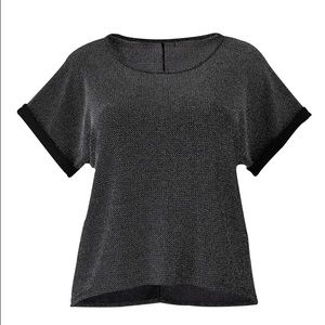 Simply Be Tops - Simply be plus sized cropped sequin tee!