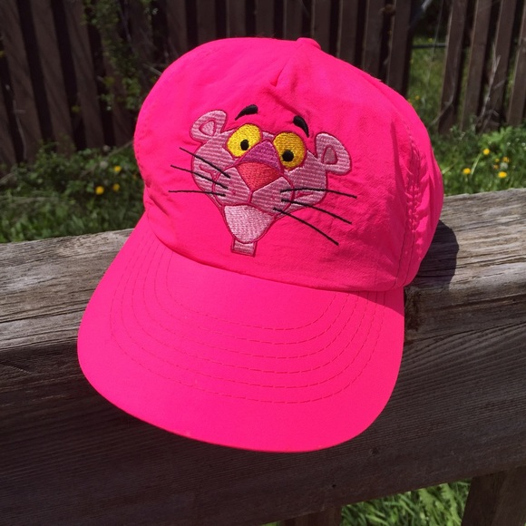 Accessories - Vintage pink panther baseball cap hat fbee1bbc2bd
