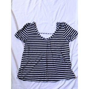 Anthropologie Striped Tee (XS)