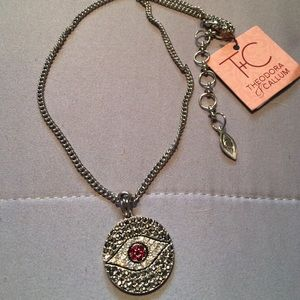 """Theodora & Callum """"eye"""" BNWT 16"""" chain"""