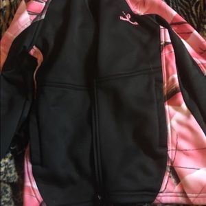 Pink Huntsworth Camo Zip-Up