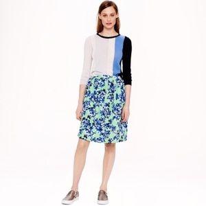 J. Crew Dresses & Skirts - j. crew • floral skirt