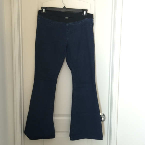 73% off Old Navy Denim - Old navy wide leg jeans from Jamie's ...