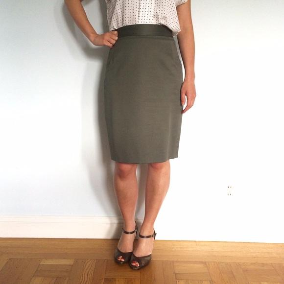 Independent Designer Dresses & Skirts - ❌ Gray Pencil Skirt ⭐️ NWOT