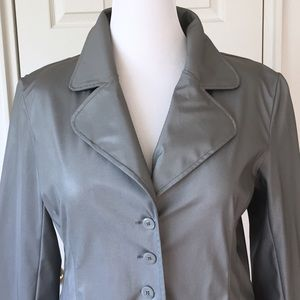 Louise Paris Jackets & Blazers - Louise Paris Grey Raincoat