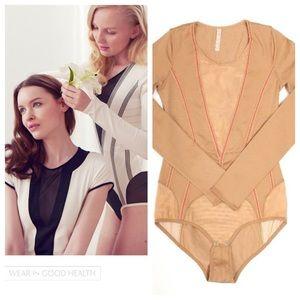 Wear in good health Other - Wear In Good Health  Tan Novarel Slim Bodysuit 🌾