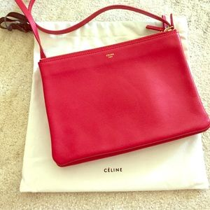 SOLD!!!Celine Large Trio Bag