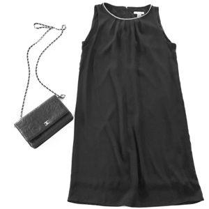 H&M Sleeveless Shift Dress - Size 4