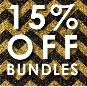 15% off two or more items!!!