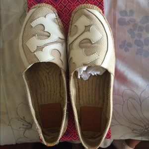 Tory Burch Tan Espadrilles