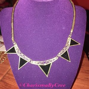 Cute triangle statement necklace