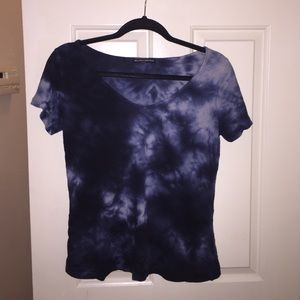 Brandy Melville tiedye short sleeve shirt