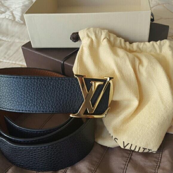 82bc04c09d2c Louis Vuitton Accessories - LV INITIALES 30MM REVERSIBLE
