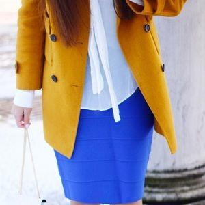 Zara Jackets & Coats - Mustard jacket