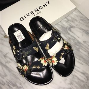 GIVENCHY sandals plate multicolor