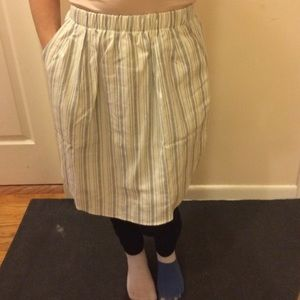Lush striped skirt with pockets! BNWT.