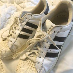 Brukte Kvinner Adidas Superstar Sko hpSGe