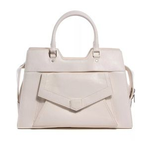 Proenza Schouler Handbags - PROENZA SCHOULER Buffalo PS13 White Shoulder Bag