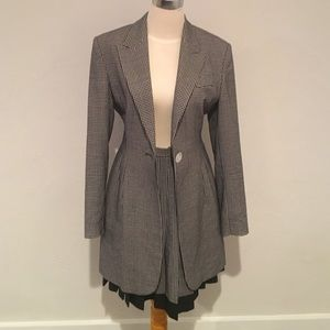 Crisca by Escada Suit (Jacket and Skirt) Black 0