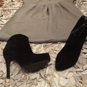 Dresses & Skirts - $10 H&M DRESS & JESSICA SIMPSON BOOTIE
