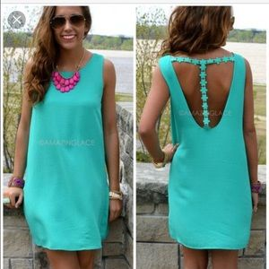 Amazing Lace Dresses & Skirts - Teal dress