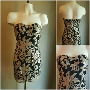 New Gianni Bini Sequined Dress