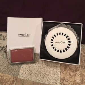 Pandora Porcelain Jewelry Trinket Box