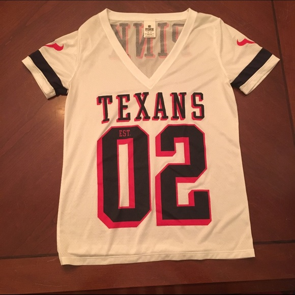 outlet store 34f33 2bc77 Houston Texans Jersey Victoria's Secret Pink