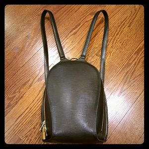 Authentic Louis Vuitton Epi Backpack