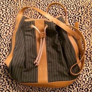 7a3d9a0bf942 FENDI Bags - Authentic vintage FENDI Pequin Bucket Bag