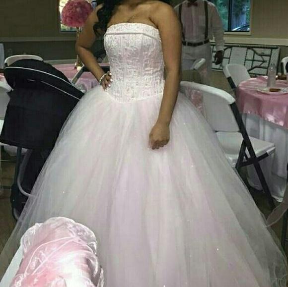 David\'s Bridal Dresses | Davids Bridal Wedding Sweet 16 Dress | Poshmark