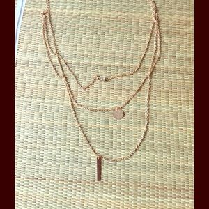 Jewelry - 🆕 CRYSTAL GOLD LAYERED  NECKLACE