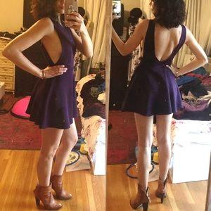 Dresses & Skirts - Open back and side boob skater dress