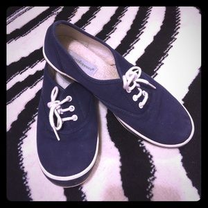 Grasshoppers Brand Navy/White Lace Up Shoes Size 7