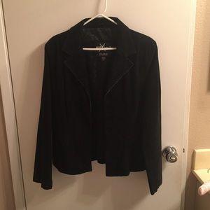 Maxima Jackets & Blazers - NWOT Maxima Swede with Silk Interior Jacket!!