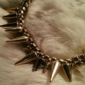 Jewelry - Gold Spiked Bracelet
