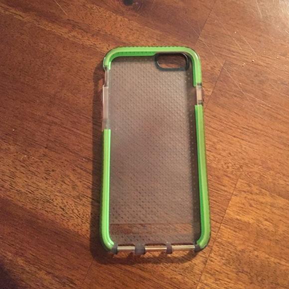 save off c322e f23d9 iPhone 6 Tech21 Green Case