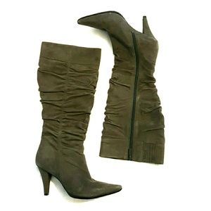 Kenneth Cole Reaction Shoes - Kenneth Cole REACTION grey suede boots NWOT