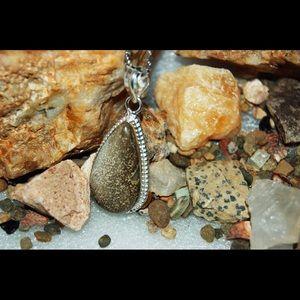 "handmade & handcrafted gemstone jewelry Jewelry - Looks Like Elephant Skin Jasper Pendant 2"""