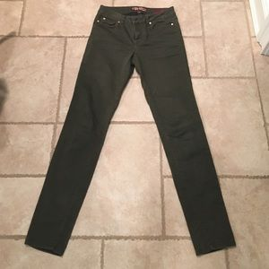Makers of True Originals Pants - Olive green skinny jeans