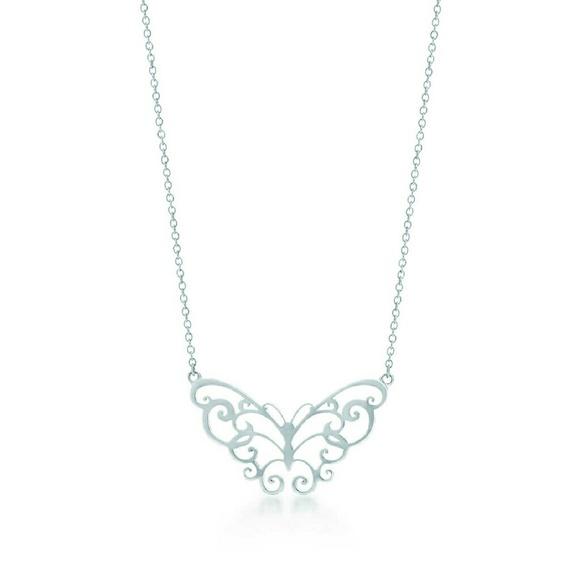e07590f91 Tiffany & Co. Jewelry   Tiffanys Enchant Butterfly Necklace   Poshmark