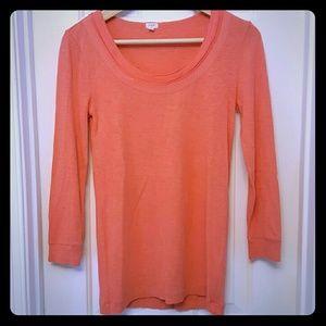 J. Crew Tops - J. Crew 3/4 length cotton shirt NWOT
