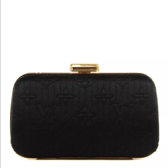 0bfd46c856e7 Louis Vuitton Handbags - LOUIS VUITTON Monogram Motard Minaudiere Clutch