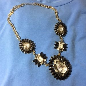 Natasha statement bib necklace