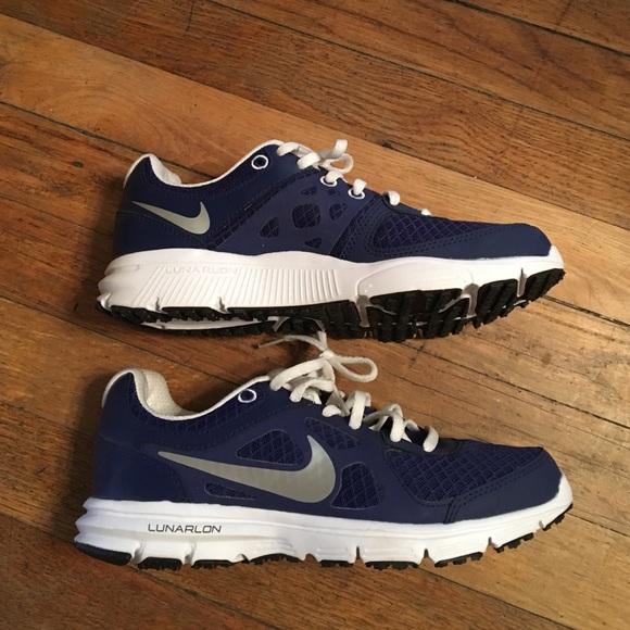 Beautiful New Womens Nike Lunarlaunch Lunarlon Running Shoes Trainers White