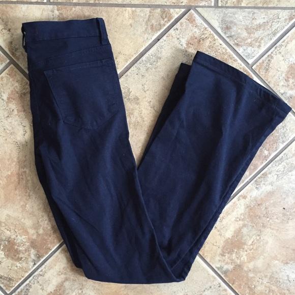 03745ce7e4 J Brand Jeans | For Barneys Coop Navy Flared Pants | Poshmark