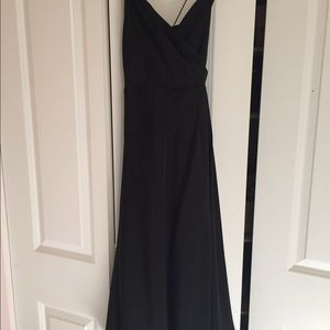 JCrew size 2 silk black dress