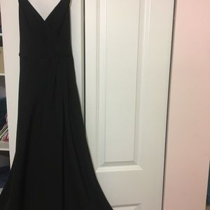 J Crew Dresses - JCrew size 2 silk black dress