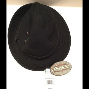 Scala Accessories - Scala black hat/ wool  👒👒👒🎩🎩🎩